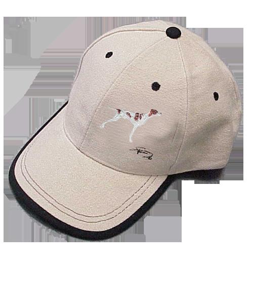 Gorra cerrada con motivo bordado Braco